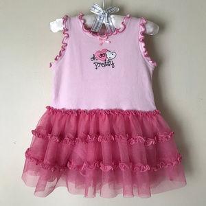 Baby Girl 6-9 Months Pink Tutu Dress